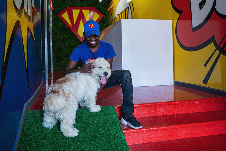 SUPERWOOF dog hotel and day care hero